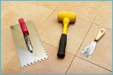 інструменти для кладки плитки