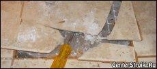 Як просвердлити плитковий шов?