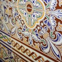 барвисті декоративні панно в мавританському стилі