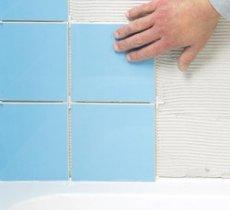 плитка у ванній своїми руками