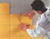 Найлегший спосіб укладання кахлю зможе освоїти навіть початківець будівельник